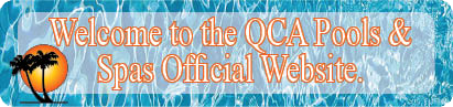 QCA Pools & Spas Official Website